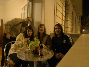 brasileiro, chilena, francesa e chileno, em Buenos Aires
